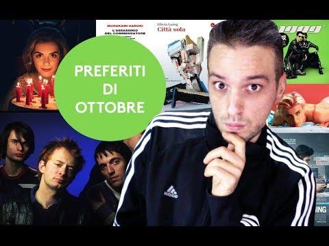PREFERITI DI OTTOBRE (Libri, Film, Musica Vestiti, Serie TV, Eventi)
