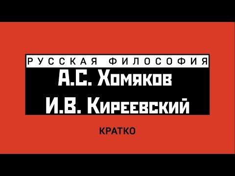 А.С. Хомяков и И.В. Киреевский. Кратко