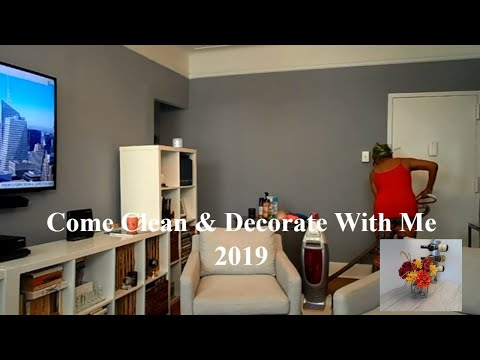 Come Clean & Fall Decorate With Me~ 2019