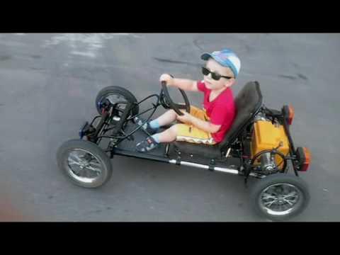 видео: Электромобиль для ребёнка за 7 минут
