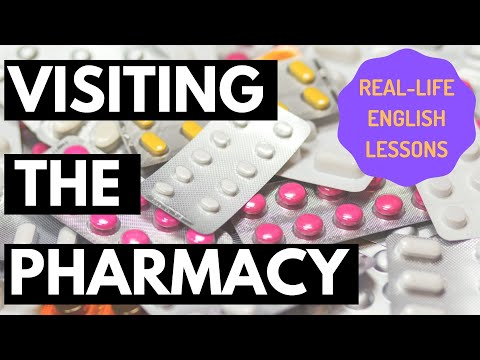 Real Talk #39 - How to buy medicine at the pharmacy [English lesson]