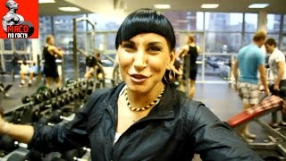 Катя Абрамова: Интервью и легкая тренировка