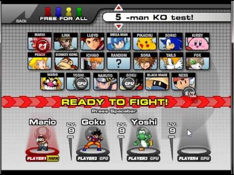 Super smash flash v0.7 demo