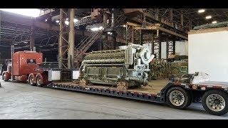 Дальнобой США.. Двигатель стоимостью в миллион долларов. V16 4500 HP