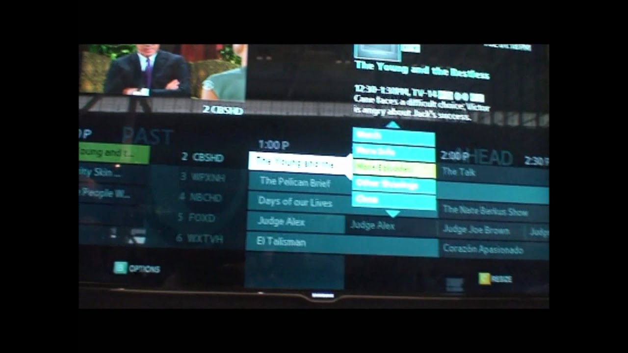 Cablevision S Optimum App For Samsung Smart Tvs Youtube