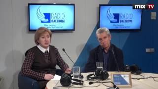 """Янис Цайцс и Алена Якуб в программе """"Семь дней и ночей"""" #MIXTV"""