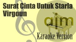 Virgoun - Surat Cinta Untuk Starla Karaoke | Ayjeeme Karaoke Mp3