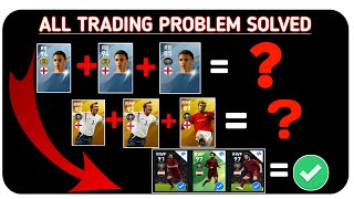 How to solve trade problem issue in pes 2020 mobile || featured players trading ETC.........