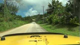 Saipan drive to Bird Island Kalabara cave.MTS