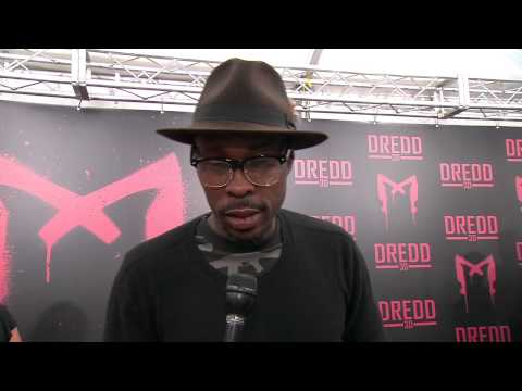 "Wood Harris at ""Dredd"" Premiere!"