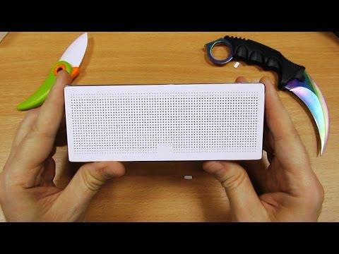 Xiaomi Speaker Square Box.  Блютуз колонка, обзор! banggood.com