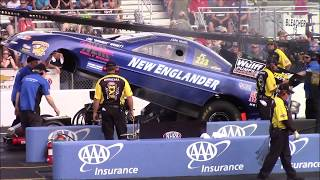 Nitro Funny Car Qualifying - NHRA New England Nationals - Friday July 6, 2018