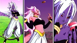 NEW TRANSFORMING MAJIN ANDROID 21 IN LEGENDS! Dragon Ball Legends Majin Android 21 Gameplay