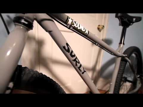 Removing Graphics From a Surly Frame - YouTube