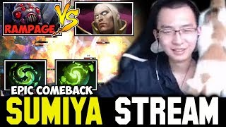 Double Cataclysm GOD Combo vs Rampage Broodmother 👍 Sumiya Facecam Stream Moment #110