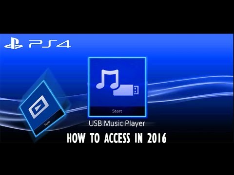 How to access USB Music Player | PS4 | May 11, 2016