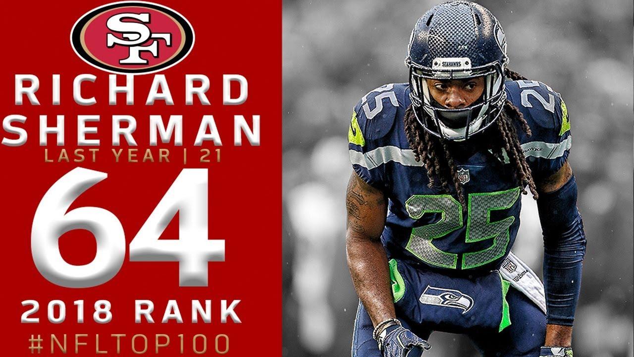 64-richard-sherman-cb-49ers-top-100-players-of-2018-nfl