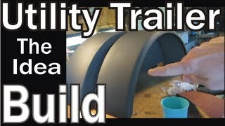 Homemade Utility Trailer ( Projected Idea )