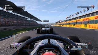F1 2018 - Hungaroring (Hungarian GP) - Gameplay (PC HD) [1080p60FPS]