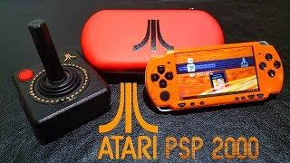 Custom Atari 64gb psp 2000