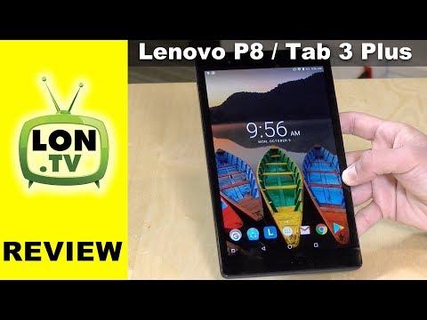 Lenovo P8 Tablet ( Tab3 8 Plus ) Review - 8