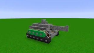 Tuto Minecraft - Comment faire un tank FONCTIONNEL