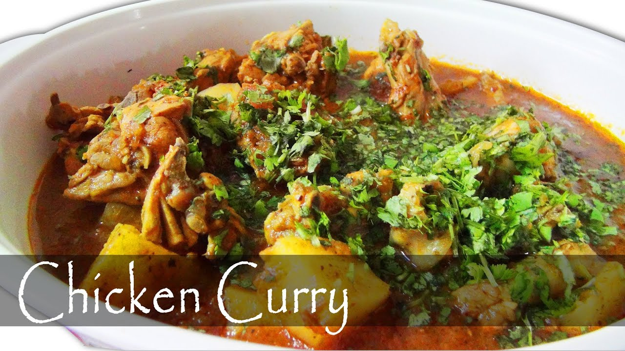 Indian Chicken Curry - YouTube