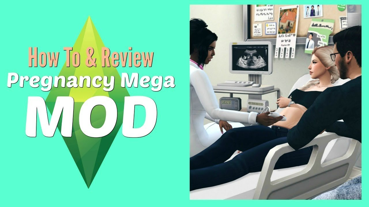 The Sims 4 - Pregnancy Mega Mod- How to Install & Use (Tutorial Tuesday)