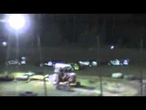 Crowley's Ridge Raceway 10/8/11 Limited Late Model Heat