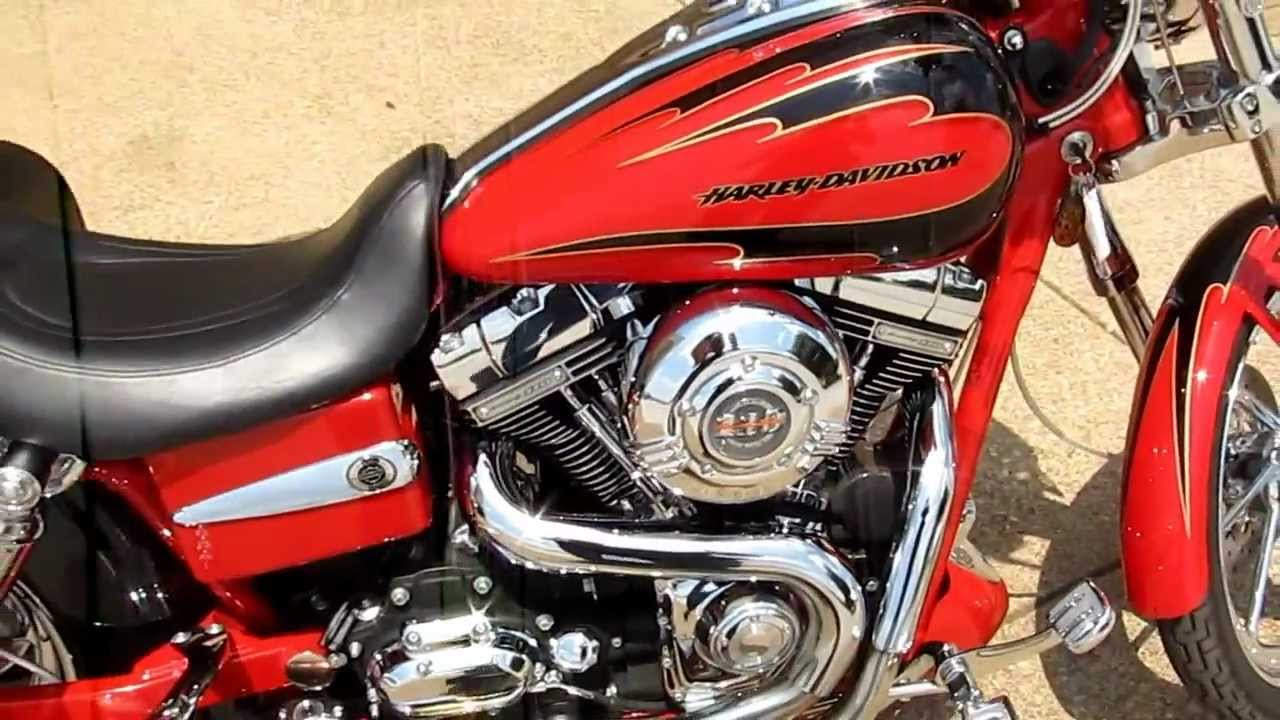 Motorcycles For Sale In Texas ... CVO Harley Screamin Eagle Dyna Lowrider, for sale in Texas - YouTube