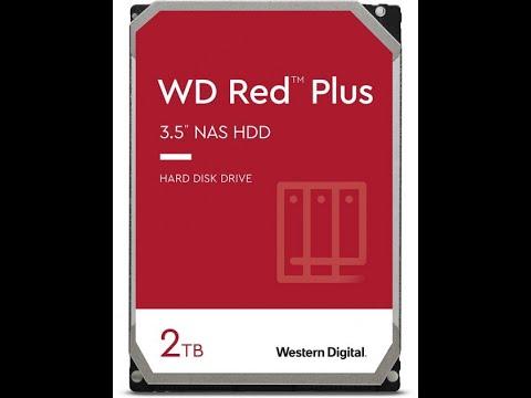 Жесткий диск Western Digital Red Plus 2TB 5400rpm 128МB WD20EFZX 3.5 SATA III