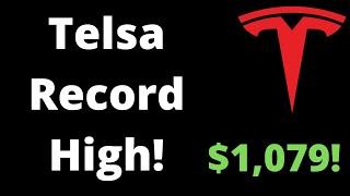 Is Tesla  Tsla  Stock A Good Buy Over $1,000?