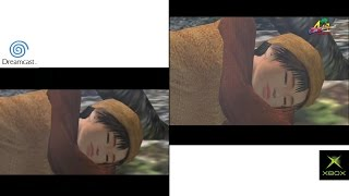 SHENMUE 2 - Dreamcast vs. xbox comparison [HD]