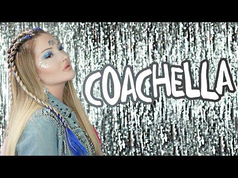 Coachella'ya Giden Kız Makyajı