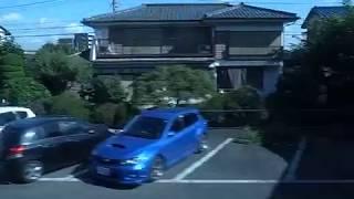 2019 京王ライナー 上り列車-ア Inbound Keio Line Window View 190907g