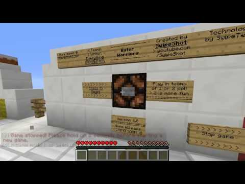 Minecraft Water Warriors 1 with Vikkstar123, PrestonPlayz, TheCampingRusher & NoahCraftFTW