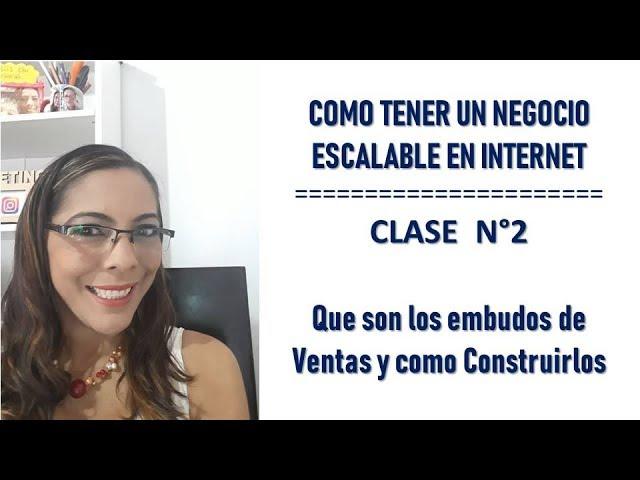 MARKETING ONLINE - QUE ES UN EMBUDO DE VENTAS Y COMO CONSTRUIRLO PARA TU NEGOCIO