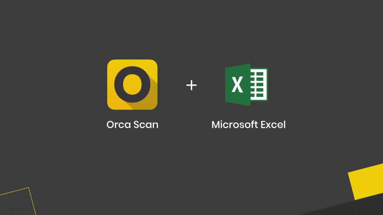 How to scan barcodes into Microsoft Excel