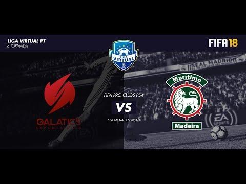 Virtual Pro Clubs PT - Torneios (Galatics FPS vs CS Marítimo)