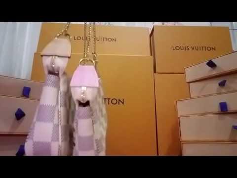 Louis Vuitton Mini Pochette Azur Classic versus 2016 Limited Edition