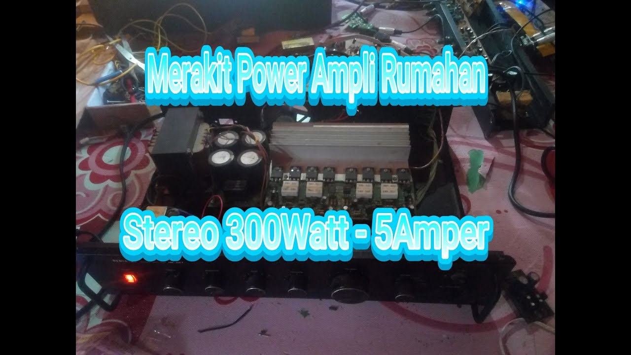 Power Ocl 300watt Stereo Tone Control Youtube Include Subwoofer Out
