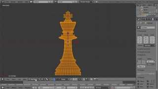 Blender Modelling Tutorial Making A King Chess Piece