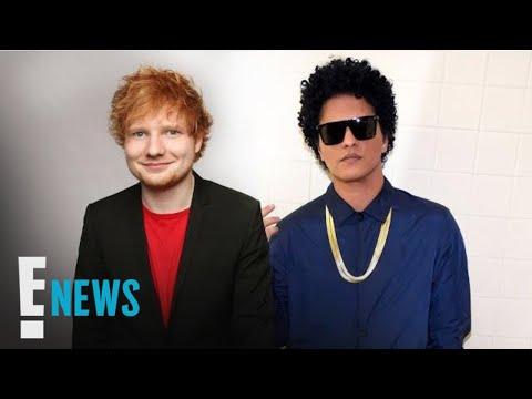 Watch Ed Sheeran Serenade Bruno Mars for His Birthday | E! News