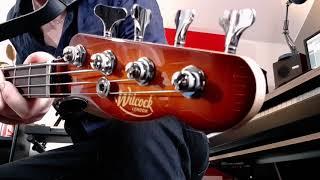 Wilcock 51 shortscale bass