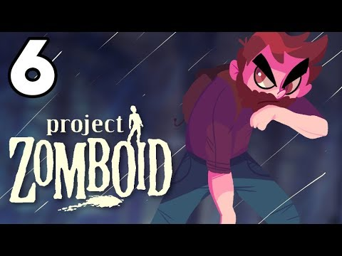 DANGEROUS HIKE | Project Zomboid Gameplay / Let's Play #6