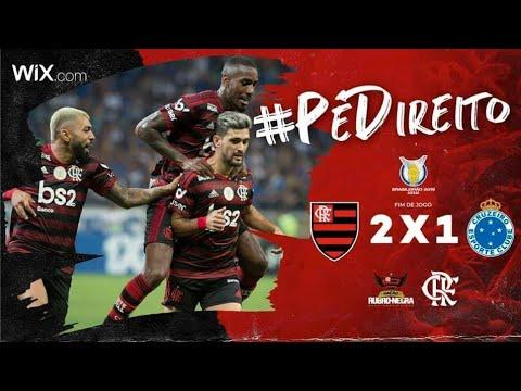Cruzeiro 1 x 2 Flamengo - Campeonato Brasileiro 2019 (20° Rodada)