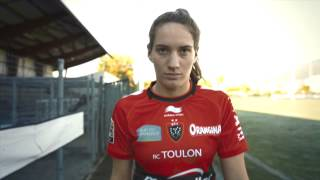 teaser camille muffat joueuse de rugby rct clermont 29112014 bd 1
