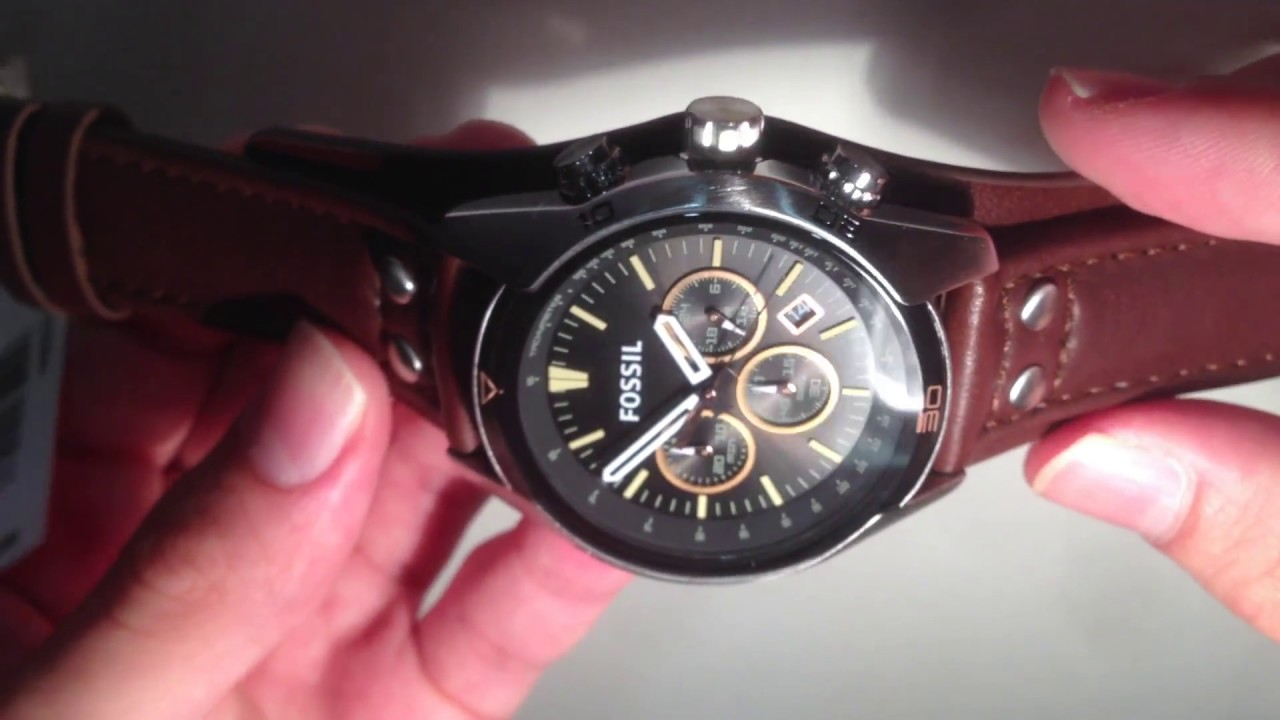 Fossil CH2891 Coachman Men Watch New Collection   elitshop.ch - YouTube 5299e2e783