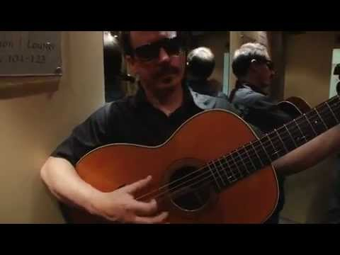 Jason Molina intimate 3voor12 session in an elevator