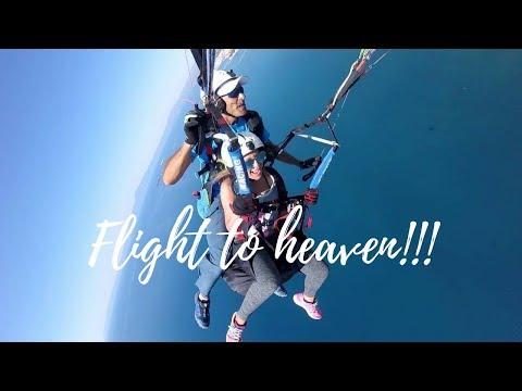 Paragliding και πτήση στον παράδεισο! | Gina